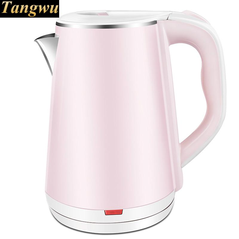 Electric kettle 304 stainless steel dormitory burning for automatic power failure<br>