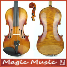 "Master Level! Antonio Stradivarius 1714 ""Soil"" Copy 4/4 Violin #1798, European Spruce handmade oil varnish"