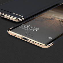 luxury cases for xiaomi mi 6 case cover 360 Degree Protection pc hard matte Mobile Phone case 3 in 1 shock proof cover for mi6