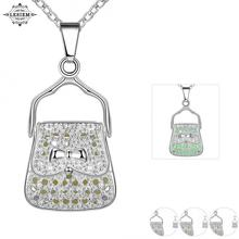 LESIEM 2017 Glow in the Dark  unisex necklaces & pendants Pattern bag  hollow out glow in the dark tattoo choker joyas