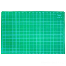 PVC Cutting Mats A3 size Durable Self-healing Cutting Pad for Office and School Cutting 30cm*45cm Cutting Plate Dark Green(China)