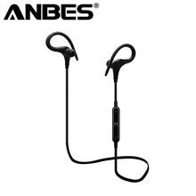Wireless Bluetooth Headset Running Earphone Ear Hook with Mic Earbuds for iPhone Xiaomi Mobile PC LG Sports Headphones