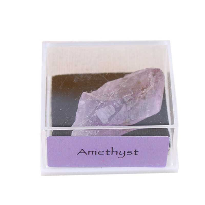 Natural Crystal Stone Ore Mineral Rough Amethyst Can Make Necklaces Gifts Jewelry Decorations Stones And Crystals