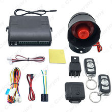 Car Alarm Security System Manual Reset Button Function Burglar Alarm Protection with 2 Remote Control #CA2224