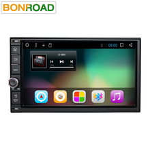 "Bonroad7""2Din 1024*600 Android 6.0 Car Tap PC Tablet 2 din Universal For Nissan GPS Navigation Radio Stereo Audio Player(No DVD)(China)"