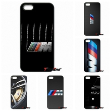 For silm BMW M Series M3 M5 logo Hard Phone Case For Xiaomi Redmi Note 2 3 3S 4 Pro Mi3 Mi4i Mi4C Mi5S MAX iPod Touch 4 5 6(China)