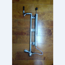 18inch home brew keg pump / keg party pump / stainless steel chome keg dispenser with S coupler(China)