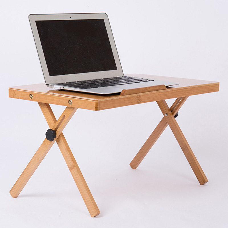 Office Furniture Folding Laptop Table Picnic Desk Laptop Anti-slip Car Computer Desk Modern Adjustable Standing Desk<br>