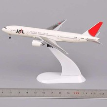 1:400 Japan Airlines JA8984 Diecast Airplane Model Toy Vehicles White Small Airliner Air Plane Aircraft Collections