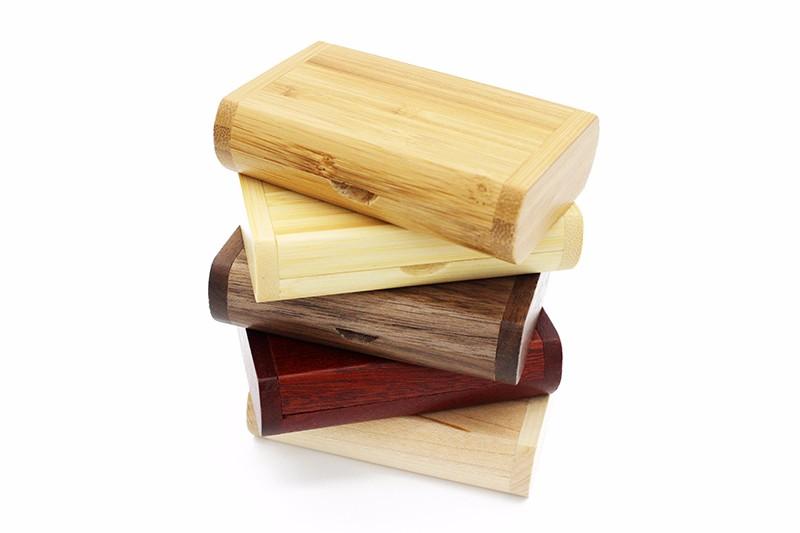 SHANDIAN PAY (OVER 10 PCS free LOGO) wooden usb + box usb flash drive pendrive 4gb 8gb 16gb 32gb memory stick photography gifts