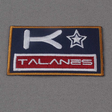 wholesale custom embroidery patches for clothing iron on or sew on applique patchs 200pcs /lot