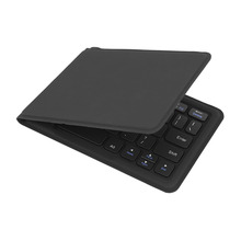 Bluetooth Wireless Foldable Keyboard Folding Rechargeable 80 Keys for Tablet Laptop Phone with Stand Function Case