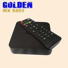 20pcs [FEDEX]  MX Android TV Box Amlogic S805 Quad Core Smart TV Media Player 1G/8G HDMI OTG RJ45 H.265/HEVC 1080P XBMC/
