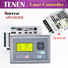 Leetro MPC6585 MPC8530S Laser Controller DSP Motion Control System Board Card For CO2 Engraver Cutting Machine Equipment(China)