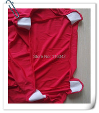 Big Discount   !!!!  20pcs Red Color Bistro Table Cover &  Spandex Table Cloth Free SHipping