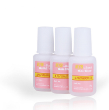 3 pcs/lot  French False Nail Polish Glue 10g Excellent Nail Gel For Acrylic Glue Nail Tips Brush Uv Gel  Polish 31224