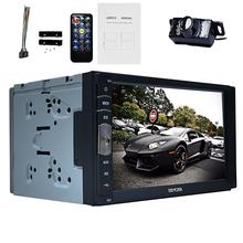 2 Din 7 inch Car video Player Stereo System MP3 Radio dvd Bluetooth Autoradio USB/SD In Dash Head Units mirror link car vehicle