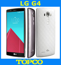 "LG G4 H815 H815T Original Unlocked GSM 3G&4G Android Quad-core RAM 3GB 5.5"" 16MP 32GB ROM WIFI GPS Mobile Phone dropshipping(China)"