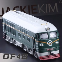 High Simulation Model Toys: ShengHui Car Styling Nostalgic Dongfeng ND2 Locomotive Model 1:87 Alloy Train Model Excellent Gifts