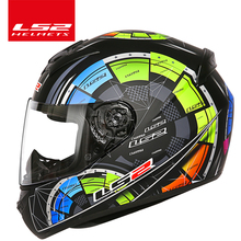 LS2 FF352 full face motorcycle helmet Urban motorbike racing Helmets scooter jet helmet casco moto capacete mens motorcycle helm(China)