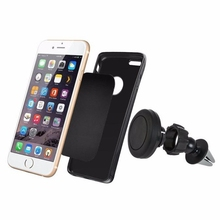 Car Mount Phone Holder Magnetic Air Vent Cradle Grip Magic Mobile Phone Universal Latest styles Car Styling @#110(China)
