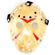 Gold Vintage Party Masks Delicated Jason Voorhees Freddy Hockey Festival Halloween Masquerade Mask Black Friday -PH