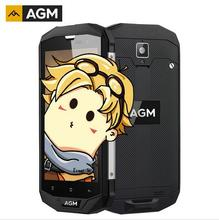 "AGM A8 American version Dustproof IP68 Waterproof Mobile Phone 5.0"" 3GB RAM 32GB ROM 13.0MP 4050mAh Android 7.0 Cellphone(China)"