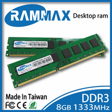 New sealed Desktop LO-DIMM1333Mhz  DDR3 Rams 1x8GB PC3-10600 Memory high compatible with all brand motherboards of PC computer