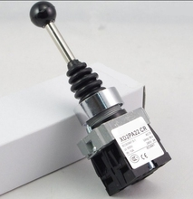 22MM 2Position 2NO Spring Return Momentary XD2PA22CR Joystick Switch Replaces Tele(China)