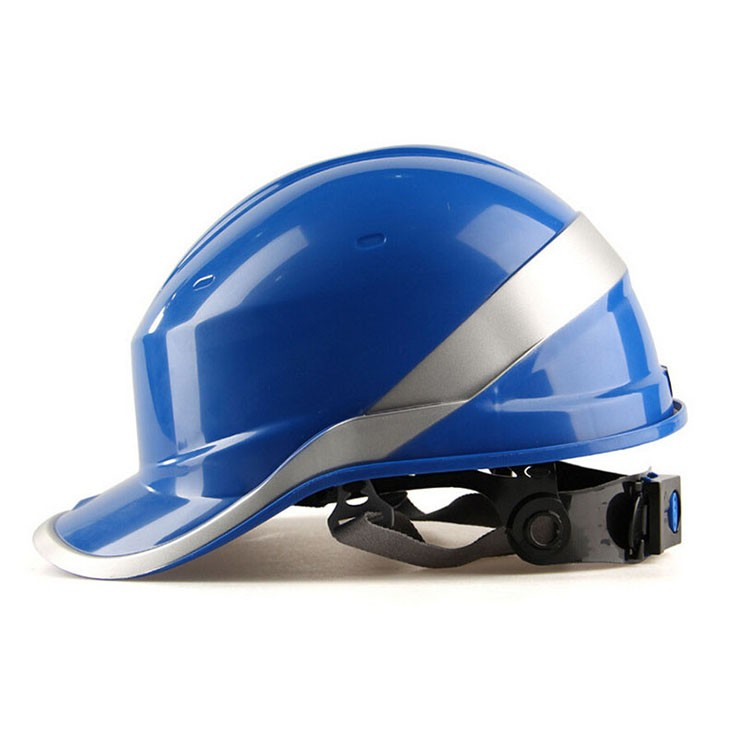 Safety Helmet Hard Hat Work Cap ABS Insulation Material With Phosphor Stripe Construction Site Insulating Protect Helmets<br>