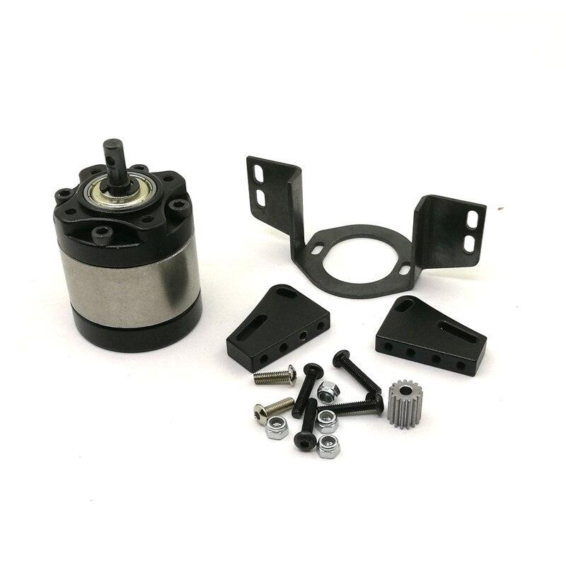 Aluminum Center 1:10 Car D90 Gearbox 1:5  Rock Crawler Upgrade Parts RC Car Transmission Case High Quality<br>