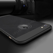 Heat dissipation phone Case For iPhone 6 6s plus Cases Full Cover For iPhone 7 7 Plus Cover Hard Back PC Protect Shell