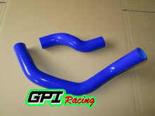 silicone radiator hose for Nissan SILVIA/180SX RPS13/S14/S15 SR20DET 1989-2002 BLUE(China)