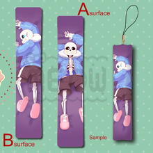 Hot Game Undertale Characters sans x frisk Cool Anime Mini Dakimakura Keychain Pillow Hanging Decoration Phone Strap