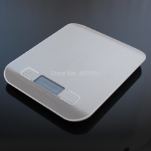5000g Digital Kitchen Weight Scale 5KG 1G Cooking Tools Super slim Stainless Steel Platform electronic weight balance - lucky bee store