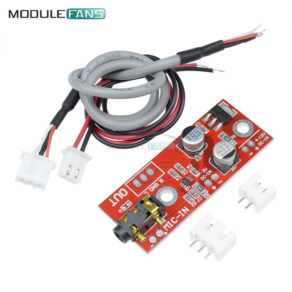 Detail Feedback Questions About Max9812 Electret Microphone Wiring Reviews Online Shopping On 3v 5v 12v Input Micro Phone Amplifier Board Sound Voice Module
