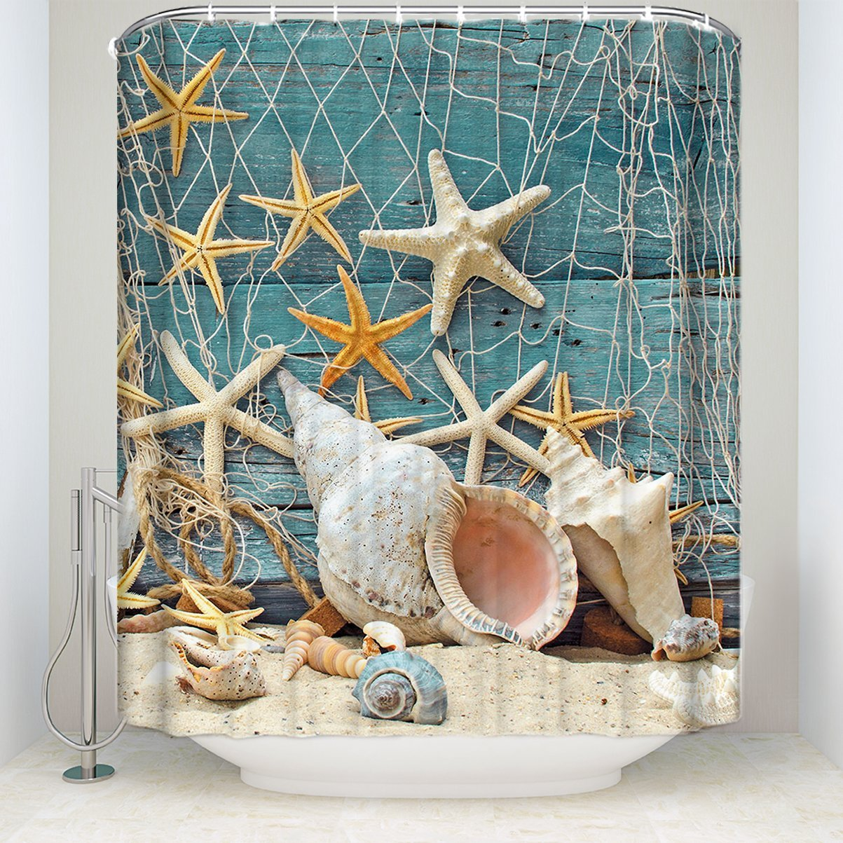 Bathroom Supplies Accessories Sea Shell Starfish Fishing