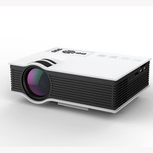 LED LCD Projector HD New Arrival UC40+ HD 1080P Home Cinema Mini Projector HDMI AV USB VGA SD LED Projector high quality jan16