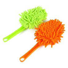 Sale 1 piece Household Cleaning Duster/ Can Washable Feather Duster Automotive Dust Duster/ Furniture Cleaning Tool TRQ150(China)