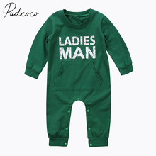 PUDCOCO Brand Cotton Blend Toddler Kid Baby Clothes Boy Cotton Romper Jumpsuit Body Suit Clothes Outfit Set US Stock 6M-24M(China)