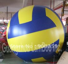 2m Inflatable Volleyball Helium Balloon for  Events/FREE Shipping/Inflatable Sports ball Helium balloon are available