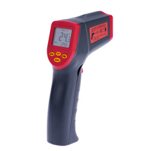 Digital laser Infrared IR Thermometer Gun Handheld Non-contact -32~530C(-26~986F) Temperature Tester Pyrometer W/ LCD Backlight(China)