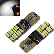 2x Canbus Car LED 5630 SMD T10 LED W5W Projector Lens Auto Lamp Light Bulbs for ford focus 2 3 fiesta mondeo ecosport kuga drl