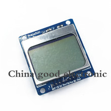 1pcs/lot New Module White backlight 84*48 84x84 LCD adapter PCB for Nokia 5110 for Arduino(China)