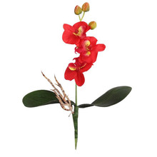 High Quality  Triple Head Artificial Butterfly Orchid Silk Flower Home Wedding Decor