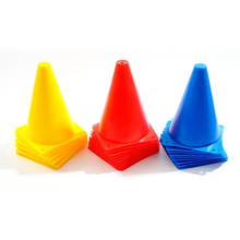 10Pcs 7 Inch 10 inch 7 inchMultipurpose Sport Football Training Traffic Cones Activity Cones for Kid and Adult(China)