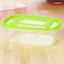 650ML Candy Color Plastic Food Container Crisper Refrigerator Vegetable Fruit Food Preservation Storage Fresh Box(China)