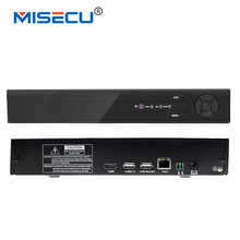 4K H.265/H.264 NVR MISECU 4*5M/4*3M/8*4M/16*960P P2P Wifi RS485 PTZ CCTV NVR ONVIF 5M playback support 1*6TB For Camera Security