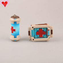 Love Thank You OW Over game watch Overwatches medical bag keychain pendant 2PC toy doll gift toy Collectibles Model gift doll