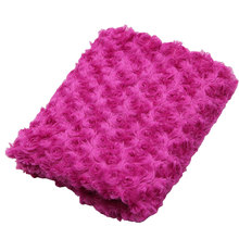 75*100 cm Soft Frosted Rose Plush Counter Display Cloth Durable Table Mat Cell Phone Counter Cloth(China)